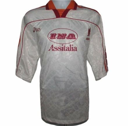 1995-1996 Roma Away Football Shirt, Asics, XL (Excellent Condition)